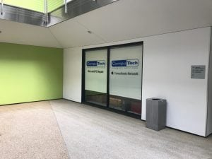 CompuTech Support Services Office Windows and Signage