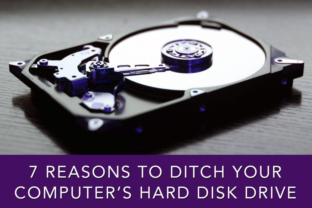 Ditch your Hard Drive for SSD